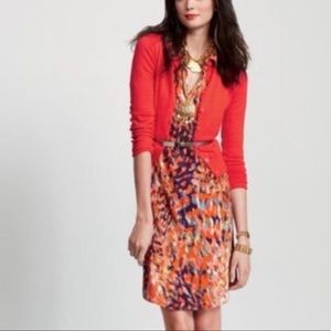 CAbi Colorful Watercolor Knit Dress